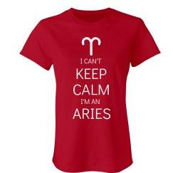 Keep Calm Aries