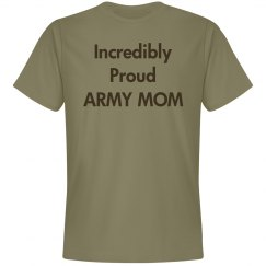 Incredibly proud army mom