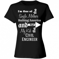 Single Mother of Civil Engineer