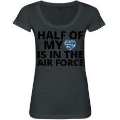 Half my heart Air Force