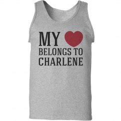 Heart belongs to Charlene
