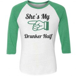 St paddys day couples shirt