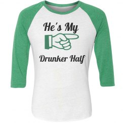 St paddys day couples shirt #2