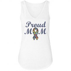 Proud Mom Autism Tee