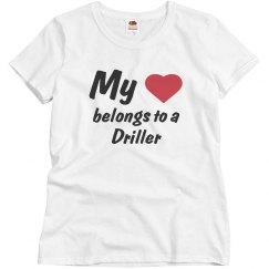 Belongs to a driller