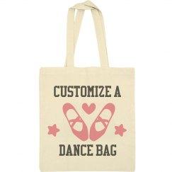 Customize A Dance Tote Bag