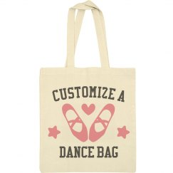 Customize A Dance Tote Bag