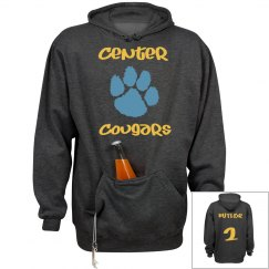 Cougar Paw Fan Sweat Shirt