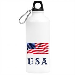 U S A Drinks Bottle