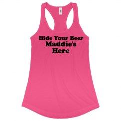 Hide your beer