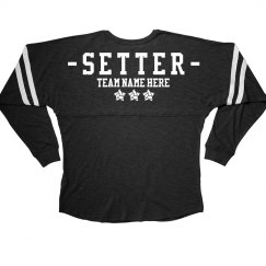 Custom Setter Volleyball Team Slub