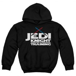Jedi Knight In Training Kids Hoodie