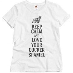 Love your Cocker Spaniel