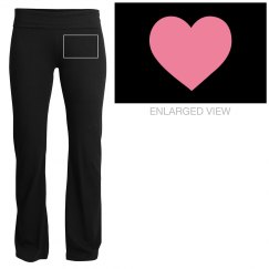 heart yoga pants