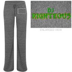 DJ Righteous Sweat Pants Black