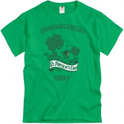It's St Patrick's day today