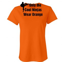 Cool Ninjas Wear Orange