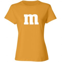 Yellow Candy Shirt Costume