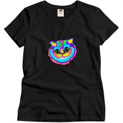 Psychedelic Smiling Cat