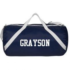 Grayson sports roll bag