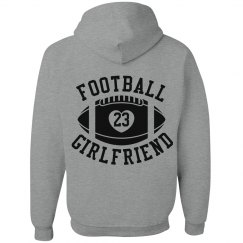 Super Cute Football Girlfriend