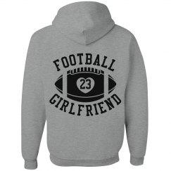 Super Cute and Inexpensive Football Girlfriend Hoodies