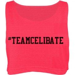 Team Celibate Crop Top