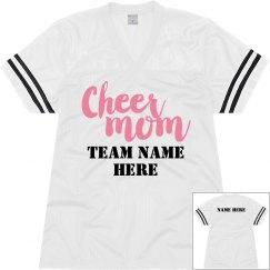 Cheer Mom Script Jersey