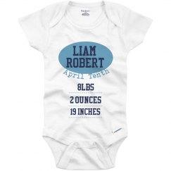 Sports Birth Announcement