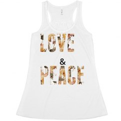 Love And Peace Floral