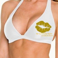 Gold Glitter Glam Bikini