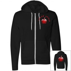 Candy Apple Fleece Hoodie