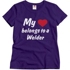 Heart belongs to a welder