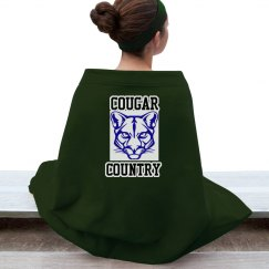 Cougar Country Blanket 1