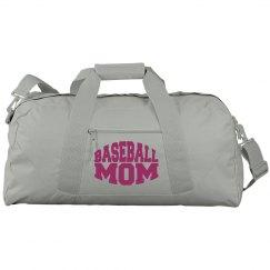 Baseball Mom Duffel Bag