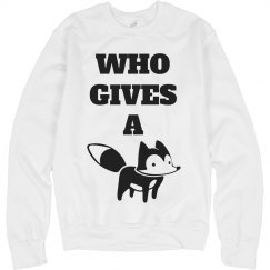 And Who Gives A Fox