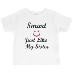 Smart like my sister