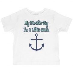Toddler Boy/Girl Nauti Shirt