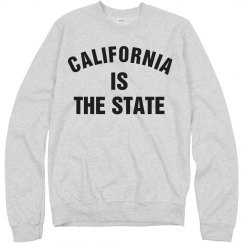 California is the state