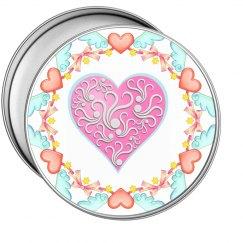 Elegant Heart Gift Tin