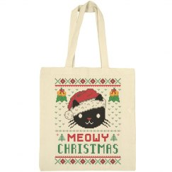 Meowy Christmas Bag
