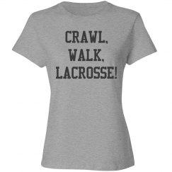 Crawl, walk, lacrosse!