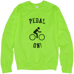 PEDAL ON! SWEATSHIRT
