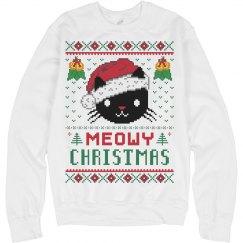 Meowy Christmas Sweater