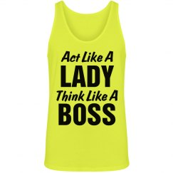 Lady Think Like A Boss