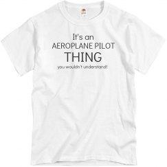 It's an Aeorplane pilot