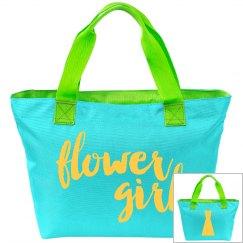 Flower Girl Tote
