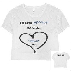 I'm their Monica crop top tee