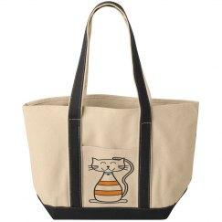 Kool Kat Tote Bag