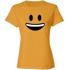 Big Smile Emoji Costume
